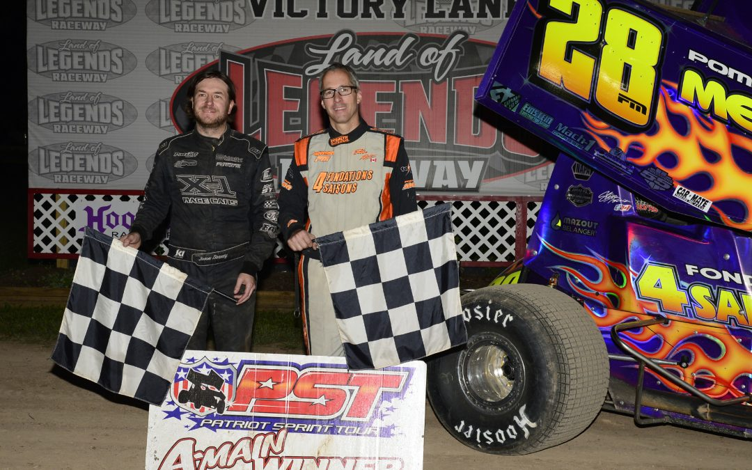 POIRIER & BARNEY TAKE TWIN 15S IN NY NATIONALS 360 SPRINT QUALIFYING