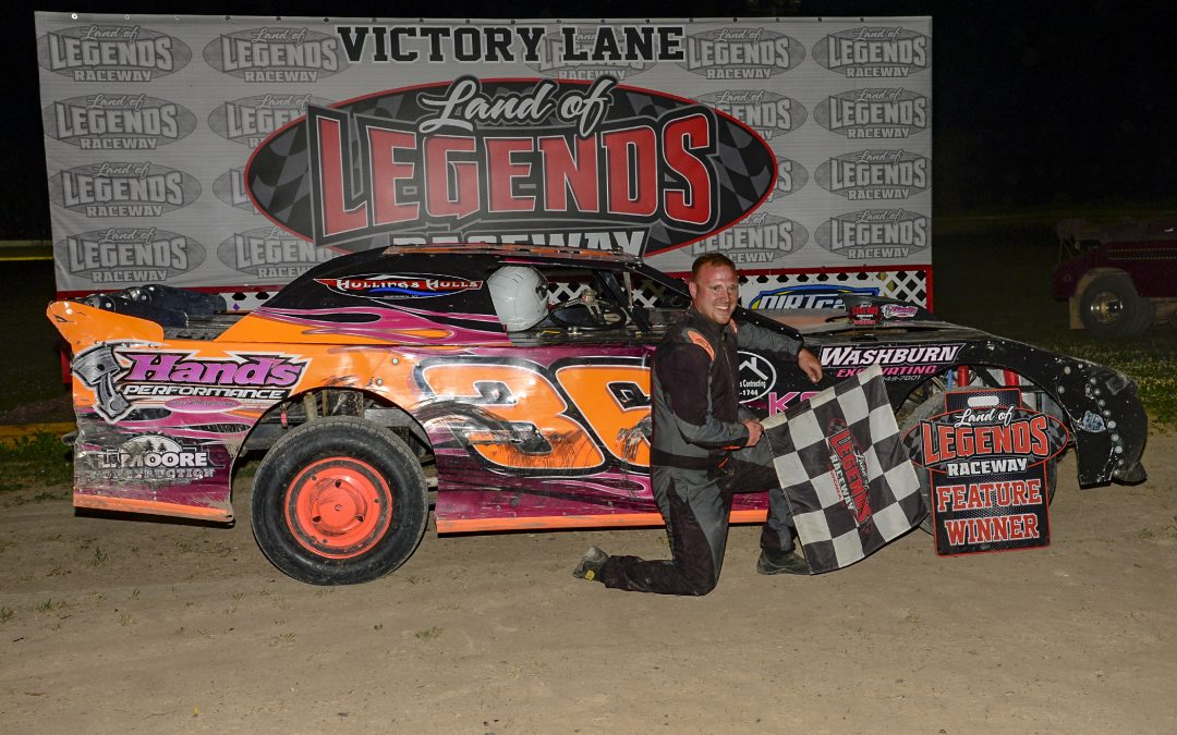 SHEPPARD PADS POINTS LEAD WITH 6TH BIG-BLOCK TRIUMPH AT LAND OF LEGENDS