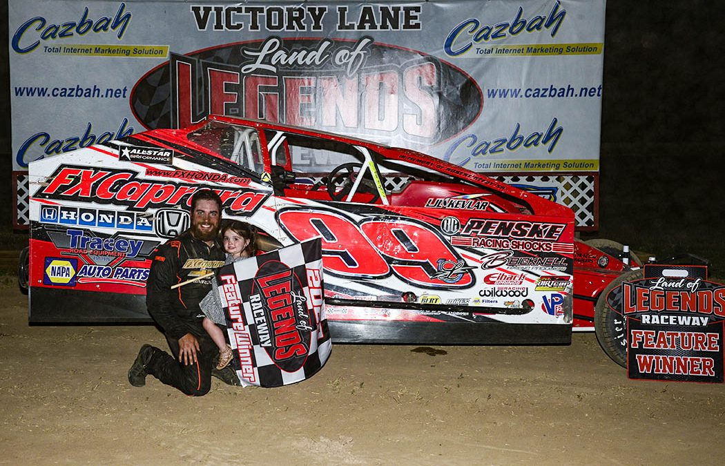 Lightning Larry Wight Strikes Gold With 1st Career LOLR Big-Block Win