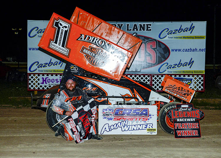 Guererri, Sparks, Pangrazio & Burnell Beat Curfew Saturday At Canandaigua