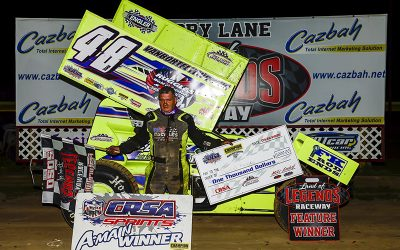 Janczuk Earns $2,000 Top Prize In Land Of Legends Sportsman Showdown