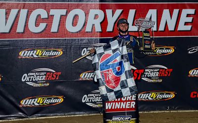 LAND OF MURRAY: Last-Lap Pass Decides Sportsman Modifieds on OktoberFAST Night #5