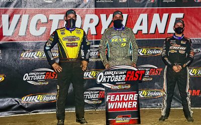 BREAK OUT THE BACKUP: Sheppard Switches Cars and Wins Land of Legends OktoberFAST Cash