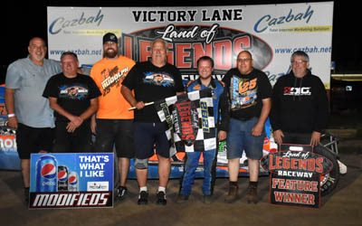 Point Leaders Rudolph, Grant & Eldredge Extend Margin With Feature Wins