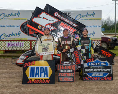 Farnham 'Wings It' Out West To Score Career First In Caution-Free ESS Main