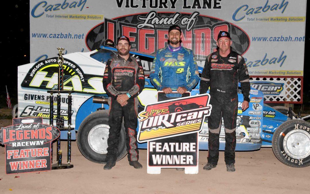 Sheppard Dominates Super DIRTcar Series Silver Edition In Canandaigua